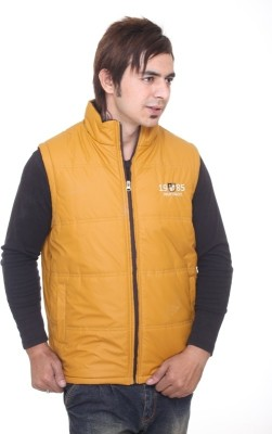 Trufit Sleeveless Solid Men's Quilted Jacket
