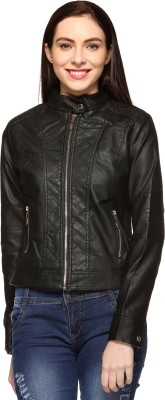 Fasnoya Full Sleeve Solid Women's Jacket at flipkart