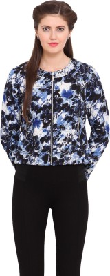Ceylin Full Sleeve Floral Print Women's Jacket