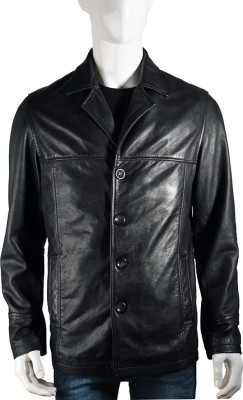 Hidesign Full Sleeve Solid Men's Jacket