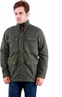 Time Option Full Sleeve Solid Men's Jacket