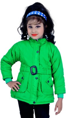 Kabeer Full Sleeve Solid Girls Jacket