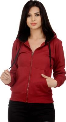 Christy World Full Sleeve Solid Women's Jacket at flipkart