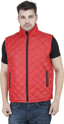 Stylox Sleeveless Solid Men,s Jacket