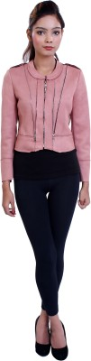 Ameri Full Sleeve Solid Women's Jacket