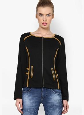 Kaxiaa Full Sleeve Solid Women's Jacket