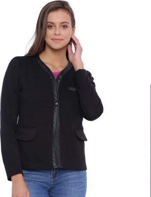 Campus Sutra Full Sleeve Solid Womens Jacket