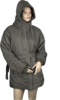 Women's Clothing - Warmline Full Sleeve Solid Women's Quilted Jacket