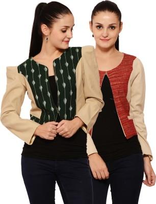 Palette Full Sleeve Printed Women's Jacket