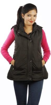 Burdy Sleeveless Solid Women's Jacket