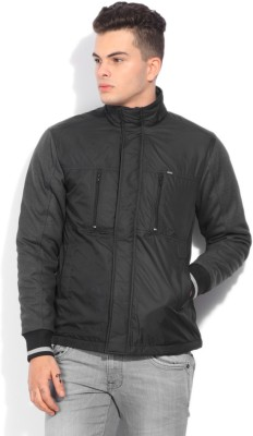 Lee Full Sleeve Solid Mens Quilted Jacket