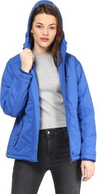 Okane Full Sleeve Solid Women,s Jacket