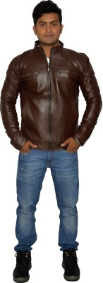 Rehans Full Sleeve Solid Mens Jacket
