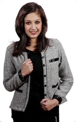 Fadjuice Full Sleeve Harringbone Women's Jacket