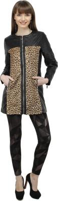 Pab Jules Full Sleeve Animal Print Women's Jacket
