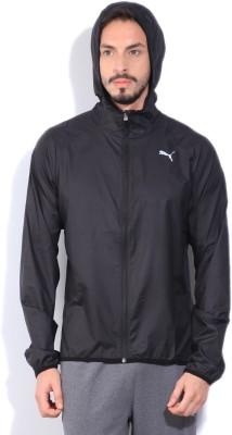 Puma Full Sleeve Solid Mens Wind Cheater Jacket