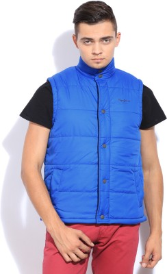 Pepe Sleeveless Solid Men's Jacket