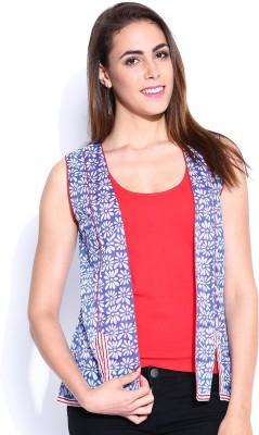 Anouk Sleeveless Printed Women,s Jacket