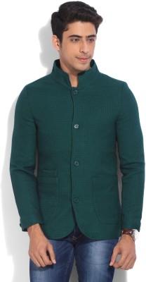 United Colors of Benetton Full Sleeve Self Design Mens Jacket