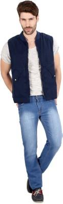 Aaina Home Decor Sleeveless Solid Men's Jacket