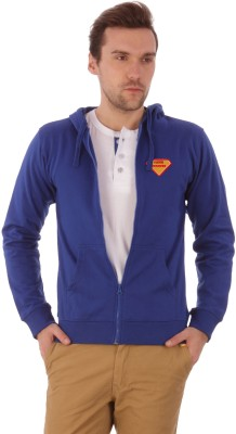 Campus Sutra Full Sleeve Solid Men,s Jacket
