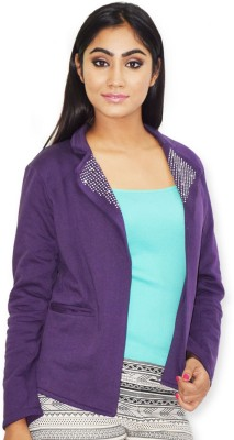 Riot Jeans Full Sleeve Solid Women's Jacket
