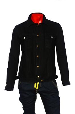 Mode De Base Italie Full Sleeve Solid Men's Denim Jacket