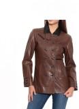 C Comfort Full Sleeve Solid Women's Jack...