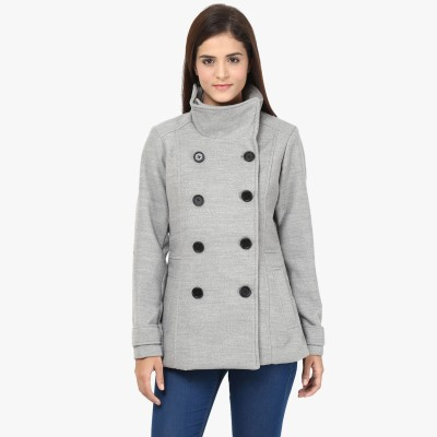 Annabelle by Pantaloons Full Sleeve Solid Women's Jacket at flipkart