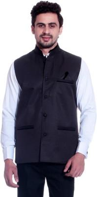 MAKHKHA Sleeveless Solid Men's Jacket
