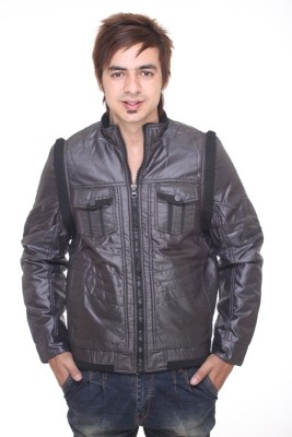 Trufit Full Sleeve Solid Men's Quilted Jacket