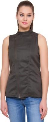 Alibi By Inmark Sleeveless Solid Women's Jacket