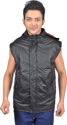 Versalis Sleeveless Solid Men's Quilted Jacket