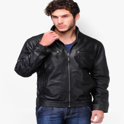 HEIFARD Full Sleeve Solid Men's Jacket