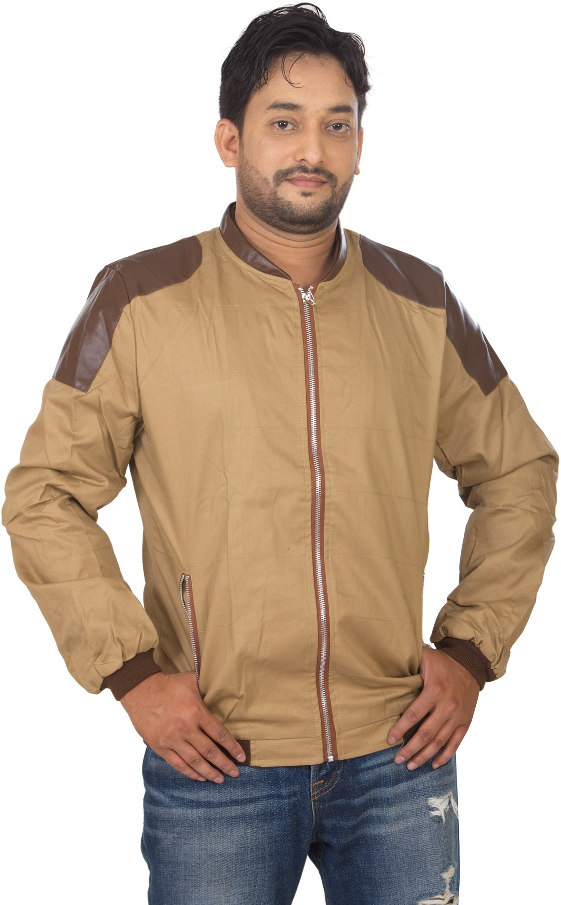 Modo Vivendi Full Sleeve Solid Mens Outerwear Jacket
