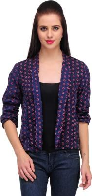 Kiosha 3/4 Sleeve Printed Women's Fancy Jacket Jacket
