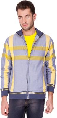 The Indian Garage Co. Full Sleeve Self Design Men,s Varsity Jacket
