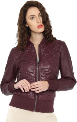 Mast & Harbour Full Sleeve Self Design Women's Jacket at flipkart