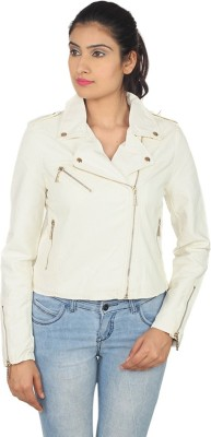 Square Full Sleeve Solid Women's Jacket