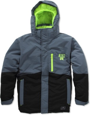 Nike Kids Full Sleeve Solid Boy's Quilted Jacket