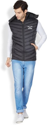Henry and Smith Sleeveless Solid Men's Jacket