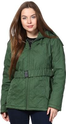 Okane Full Sleeve Self Design Women's Self Design Jacket Jacket