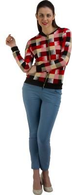GUDS Full Sleeve Checkered Women's Jacket