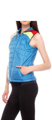 Winter Jackit Sleeveless Self Design Women's Jacket