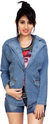 Carrel Full Sleeve Solid Women's Denim Jacket