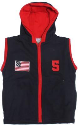 Babiano Half Sleeve Solid Baby Girl's Jacket