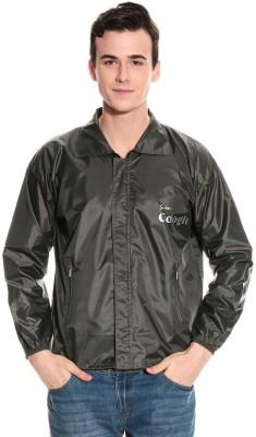 Monsuun ALSKJ-15-06R-Green Printed Men's Raincoat