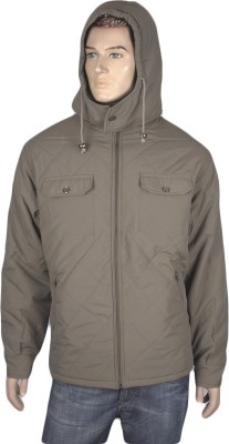 Warmline Full Sleeve Solid Men's Quilted Jacket