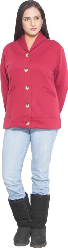 Finesse Full Sleeve Solid Women's Jacket