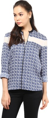Femella Full Sleeve Printed Women's Summer Jacket